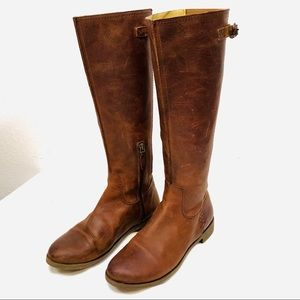 Tall Riding Boots By OLUKAI - Leather Strap Buckle